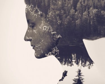 Amazing use of the Double Exposure Effect