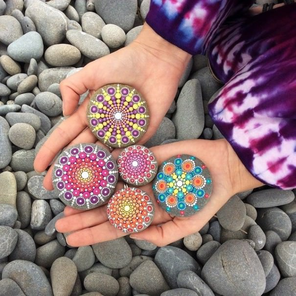 How Handmade Painted Stones Went Viral Art + Graphics