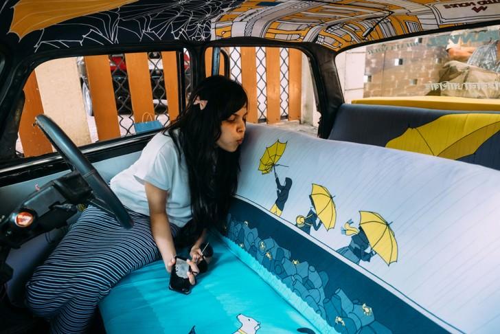 Interior Design for Indian Taxis Design