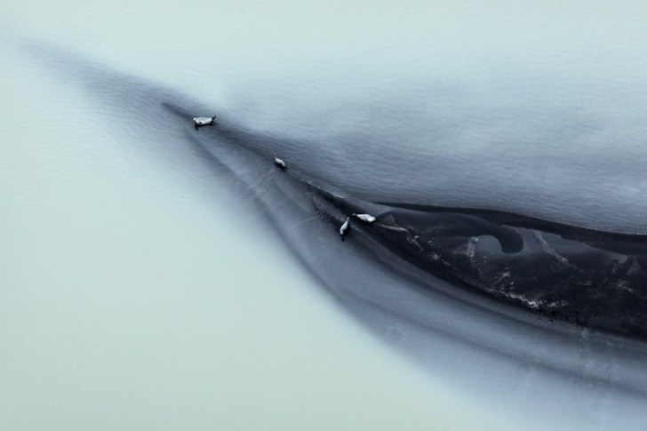 Iceland From Above, Abstract Photographies By Zack Seckler Photography
