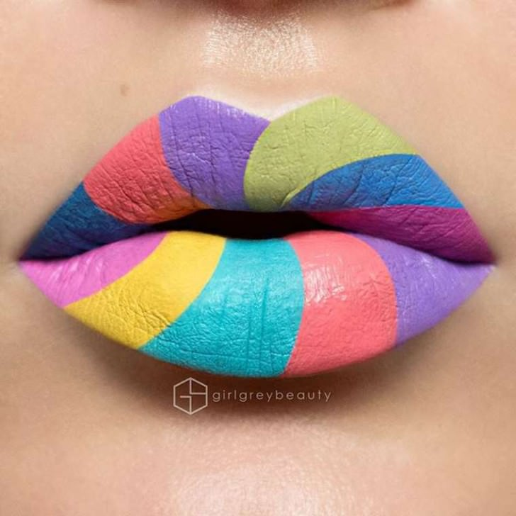 Lip Art Makeup Byandrea Reed Art + Graphics