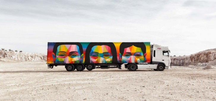 Truck Art Project in Spain Art + Graphics