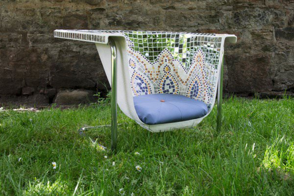 Amazing Outdoor Seats From Upcycled Bath by Helen Stephenson Design Sustainability