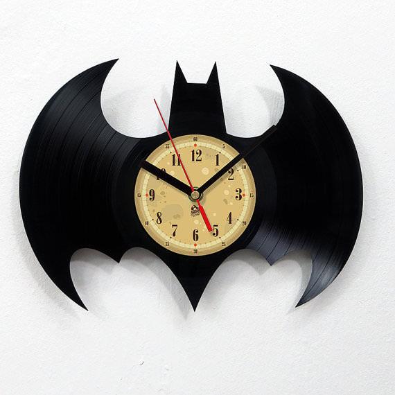 Handmade Design Vinyl Record Clock Geek Universe