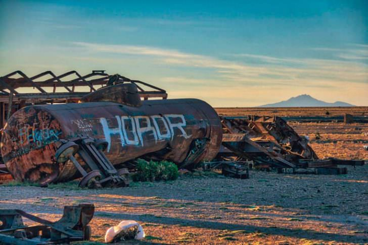 Amazing Cemetery of Abandoned Trains in Bolivia by Chris Staring Photography