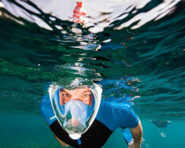 Diving Snorkeling Mask with XXL Vision
