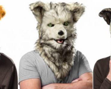 With these Animal Masks you can Talk Realistically