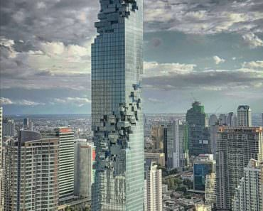 Mahanakhon, the New Art Design Skyscraper of Bangkok