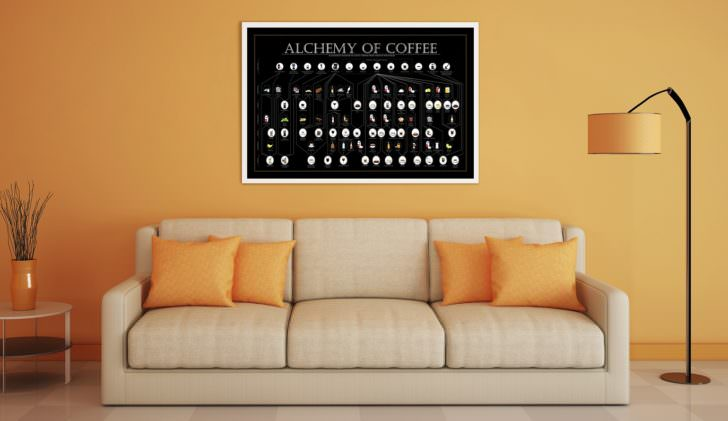 Alchemy of Coffee: 39 Coffee Drinks from around the World Art + Graphics