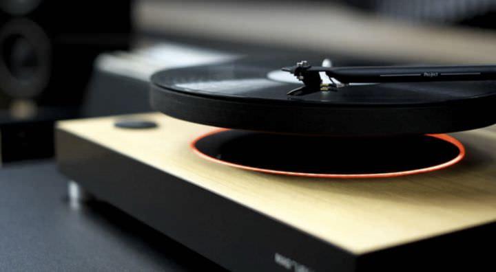 Maglev Audio Vinyl Levitating Turntable Geek Universe