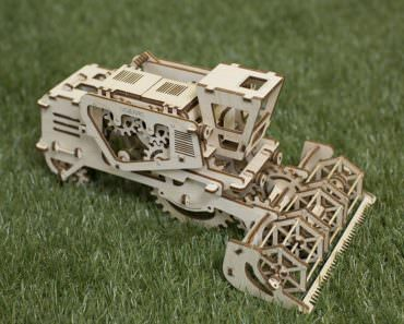 Amazing Mechanical 3D Wood Puzzles