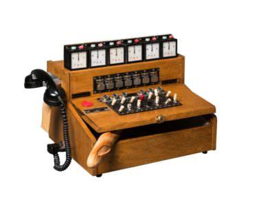 1960 Telephone Unit into Bread Box