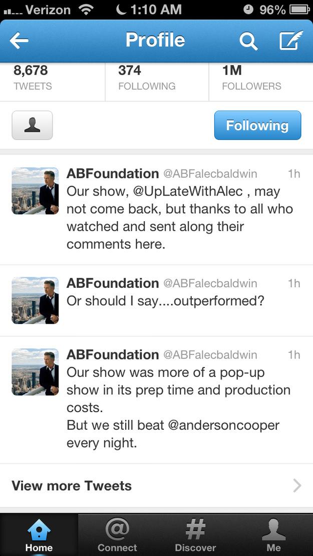 Alec Baldwin Hints That His Msnbc Show Might Not Return Photography