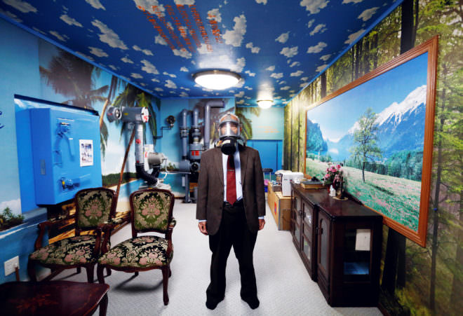Photo of the Week: How to Transform Your Nuclear Bunker Into Paradise Photography