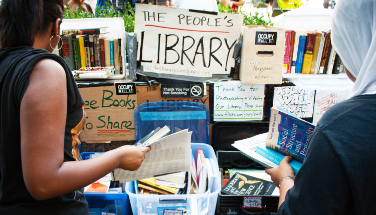 Why Do Protest Camps Have Libraries? | Geek Universe
