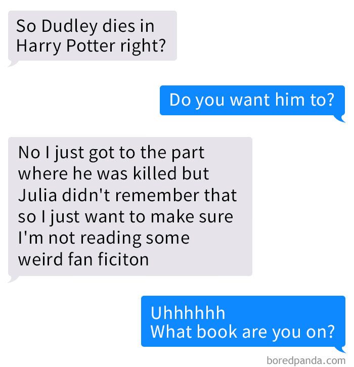 Guy Discovers He's Been Reading Nsfw Harry Potter Fan Fiction Instead Of The Real Book, And It's Too Hilarious Funny