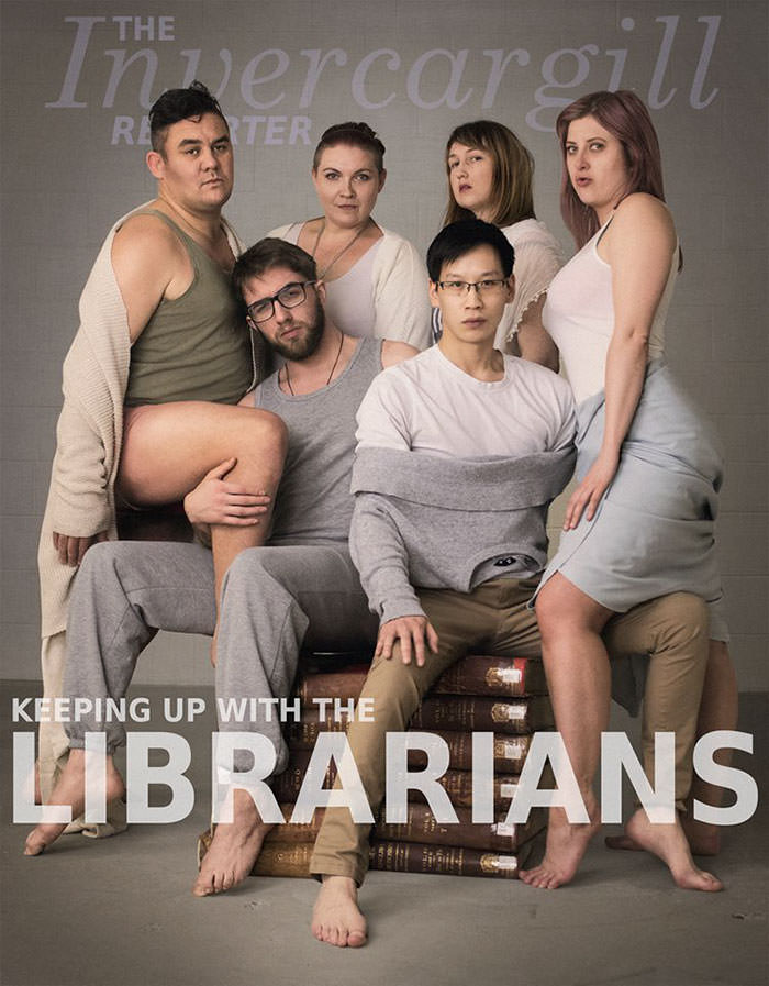 Librarians Attempt A Kardashian-inspired Photoshoot, And The Result Is Even Better Than The Original Funny