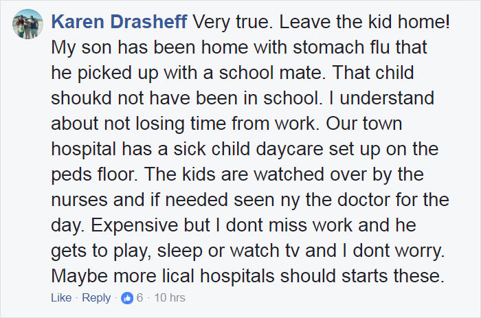 Stop Bringing Sick Kids To School: Furious Mom Shows What Could Happen To Other Kids Funny