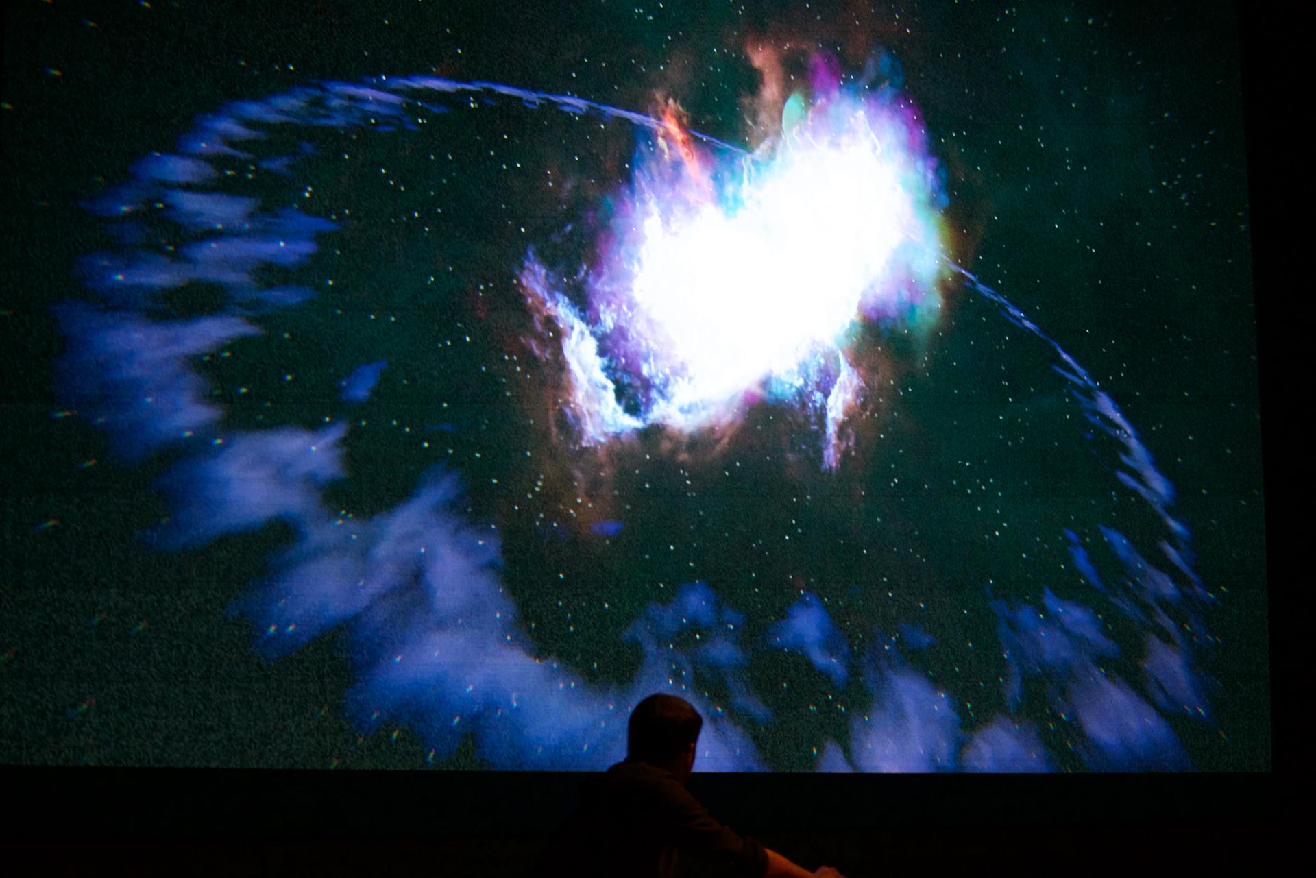 Musical Journey in Space by Romain Benitez – Fubiz Media Design