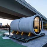 Incredible Concrete Tubes Appartments Concept – Fubiz Media Design