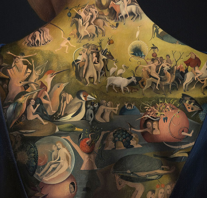 This Woman's Tattoo Inspired By 15th Century Painting Is Not What It Seems To Be Funny
