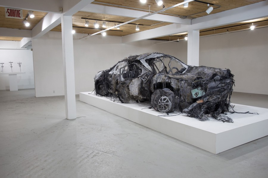 Astonishing Car Installation Made with Easily Materials – Fubiz Media Design