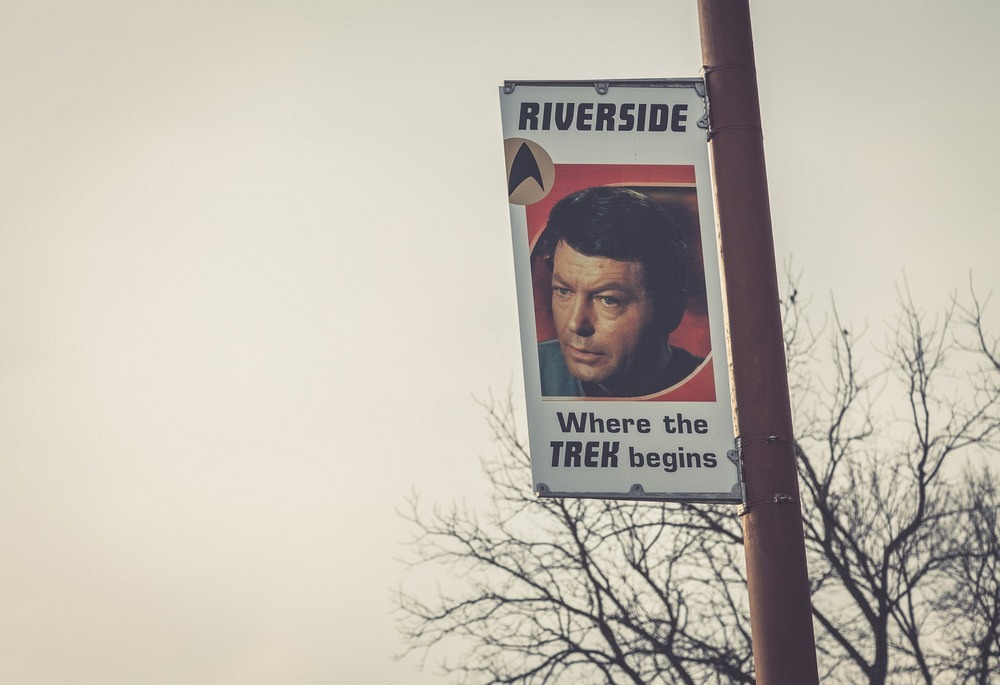 Riverside: The Future Birthplace of Captain James T. Kirk Photography