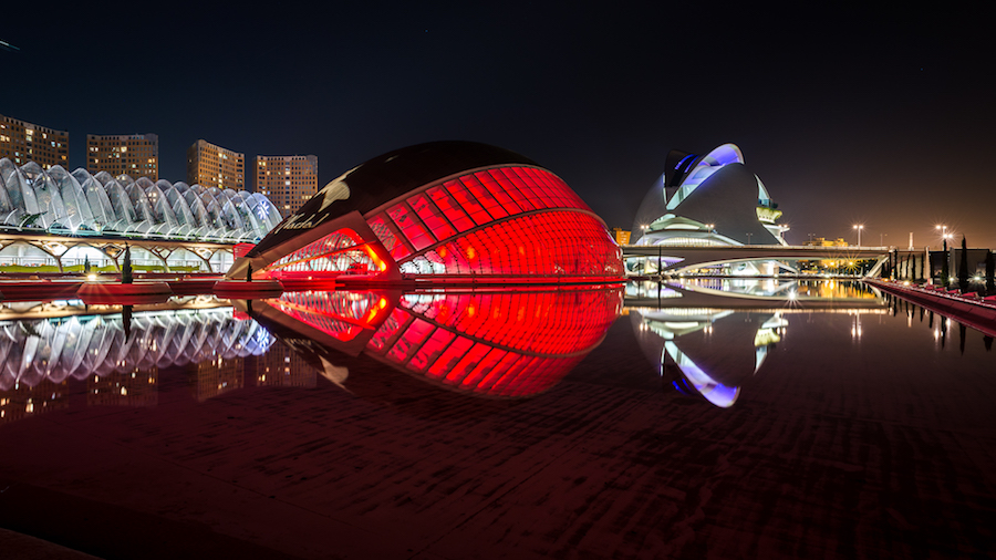 Amazing City Of Art And Sciences in Valencia – Fubiz Media Design