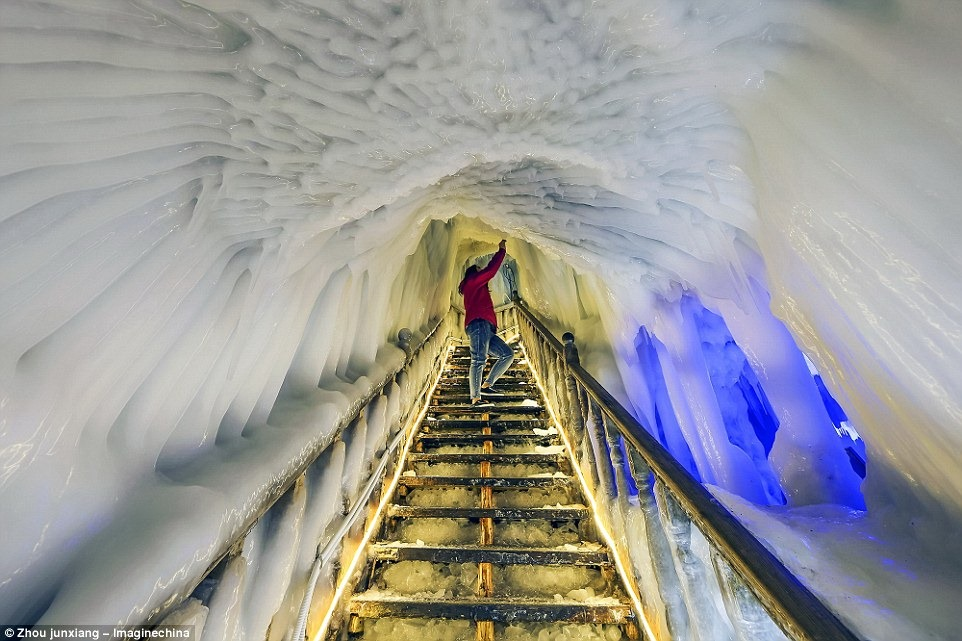 The Ice Caves That Never Melt, Even In Summer Photography