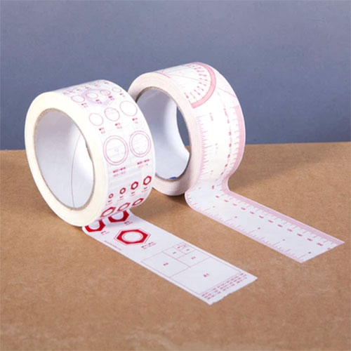 Quickstarter #1: Tape Stickers! By Oscar Lhermitte. 2 Rolls That You Can Use As Tape Or Cut Up As Stickers: (1) Ruler An… – #63119 Design