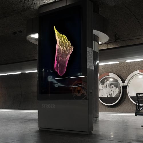 "The Artist Fabian Gatermann Transformed The Metro Station ""Schweizer Platz"" In Frankfurt Into A Light Installation Cal… – #63137 Design"