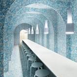 Pop-up Restaurant Built from Recycled Food Packaging – Fubiz Media Design