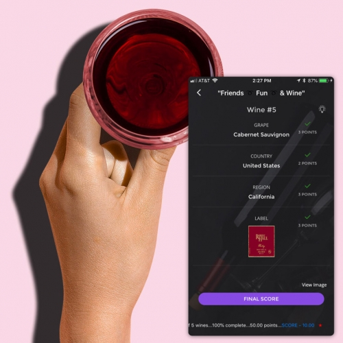Wine Game! An App To Turn Blind Wine Tasting With Friends Into A Fun Game. Pick A Few Bottles, Have One Person Scan The … – #63242 Design