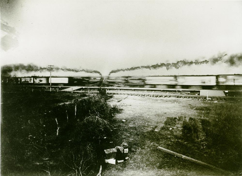 The Great Texas Train Crash at Crush Photography