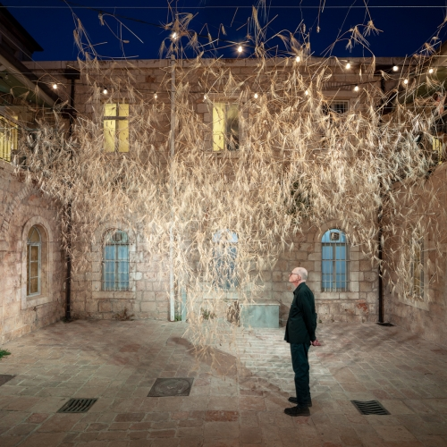 Goren Is A Wheat Installation Presented As Part Of The Jerusalem Design Week 2018. The Project Display A Selection Of Ge… – #63294 Design