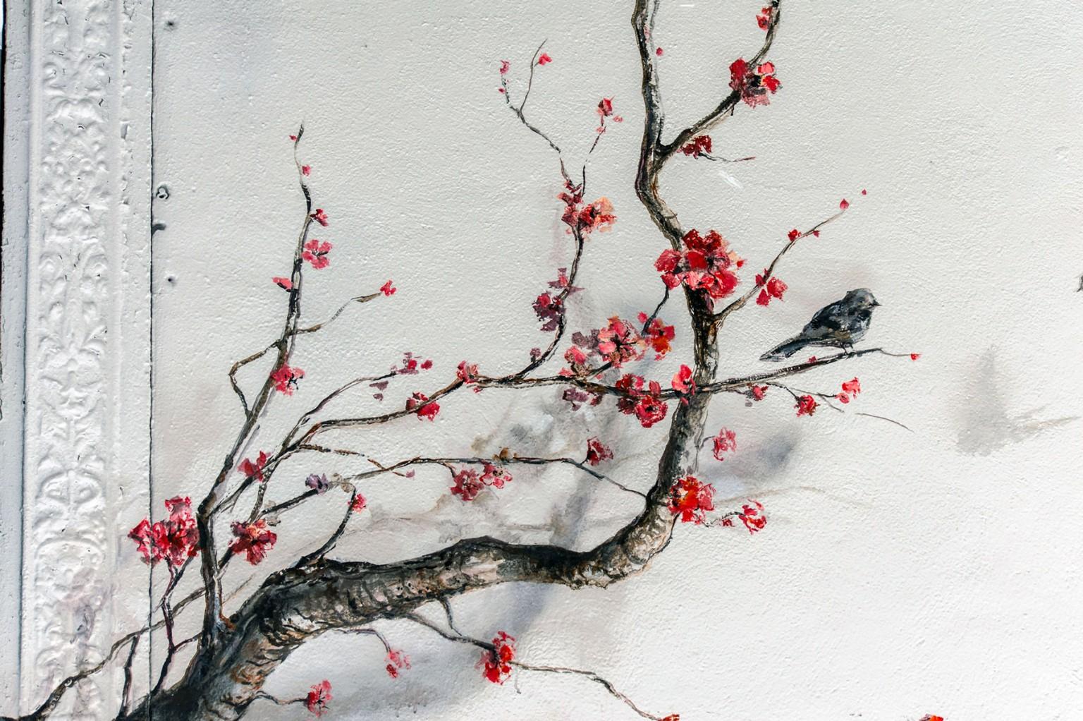 Pejac Pulls Nature Into Town – Fubiz Media Design