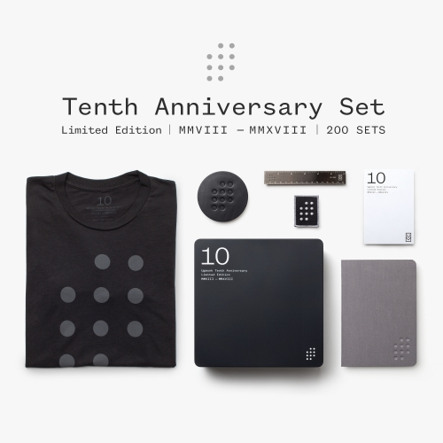 To Celebrate 10 Years, Ugmonk Released A Special Limited Edition 10th Anniversary Set. Included In The Set: Bamboo/Organ… – #63343 Design