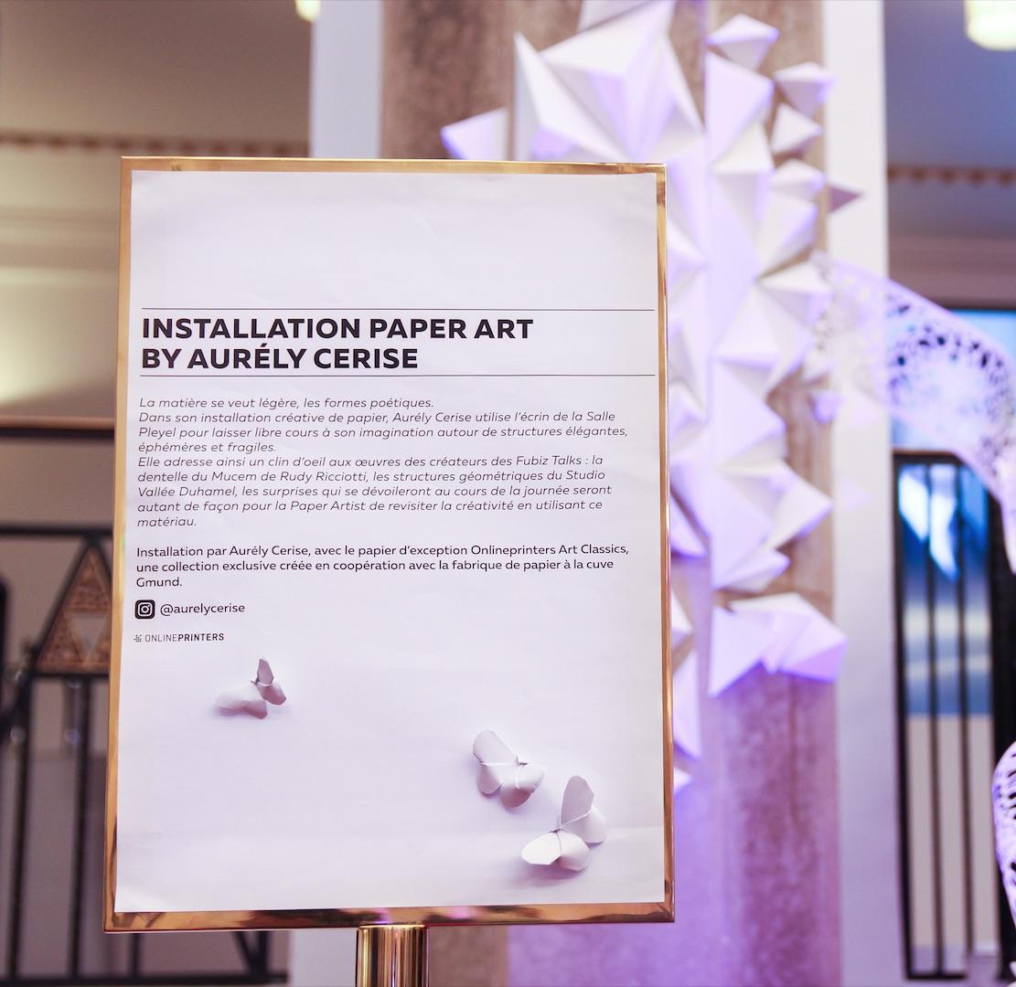 Elegant Paper Partner at Fubiz Talks 2018 – Fubiz Media Design
