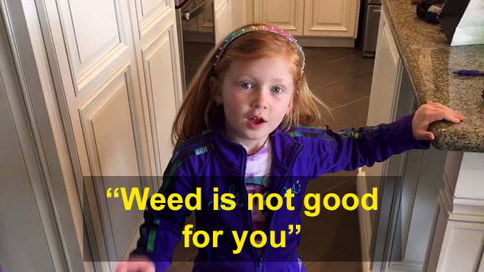 This Dad Asked His Daughter To Explain Why She Told Teachers He Grew Weed, And It's Hard Not To Laugh Funny