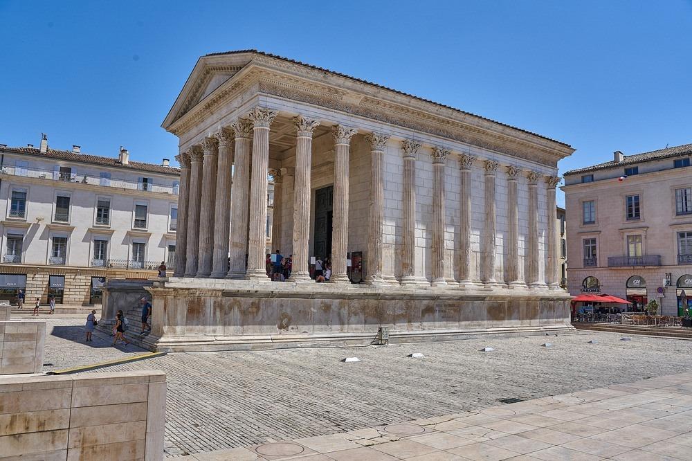 Maison Carrée, The Most Intact Roman Temple Photography