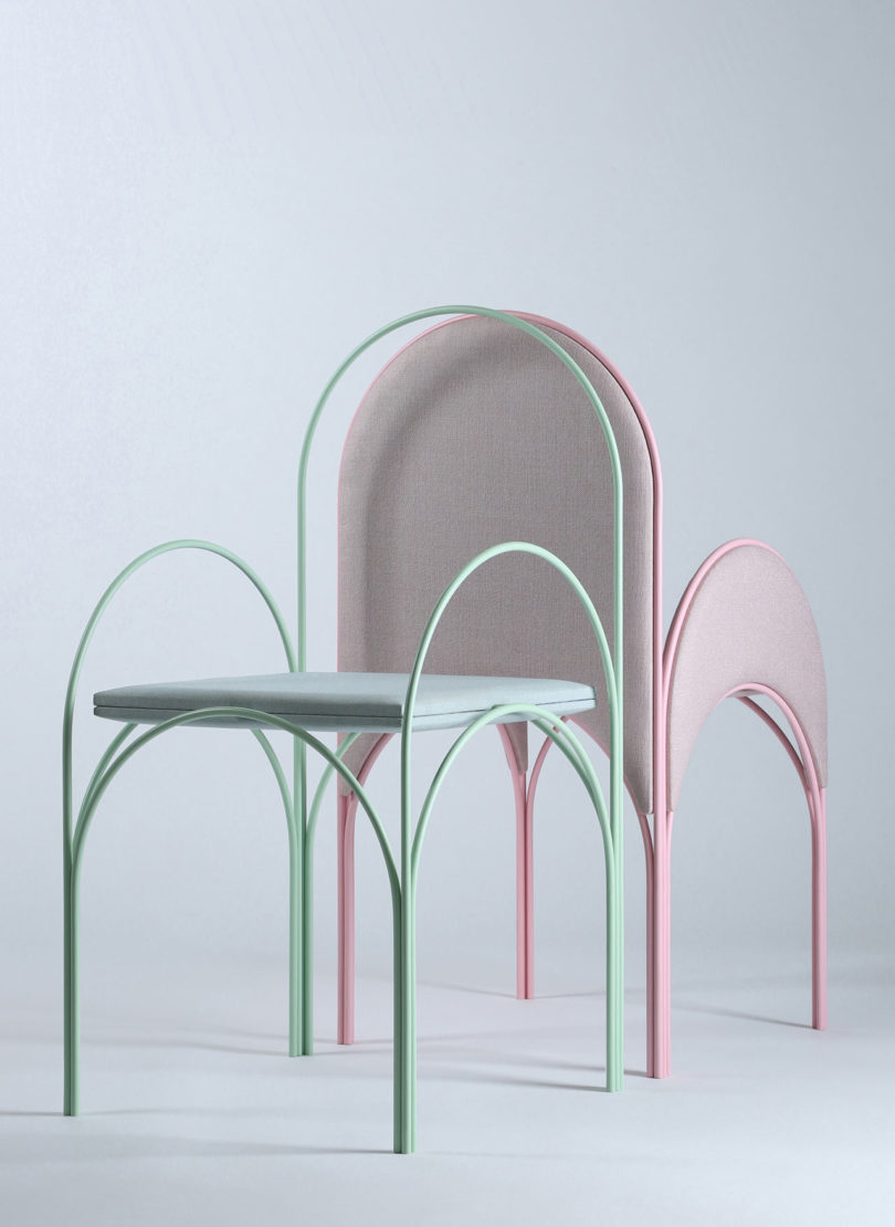 Furnitures Inspired by Lebanese Architecture – Fubiz Media Design
