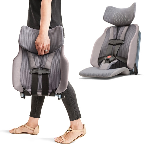 The Wayb Pico Is An 8 Lb Compact Travel Car Seat Made Of Aerospace-grade Aluminum And High-performance Mesh Designed And… – #63406 Design