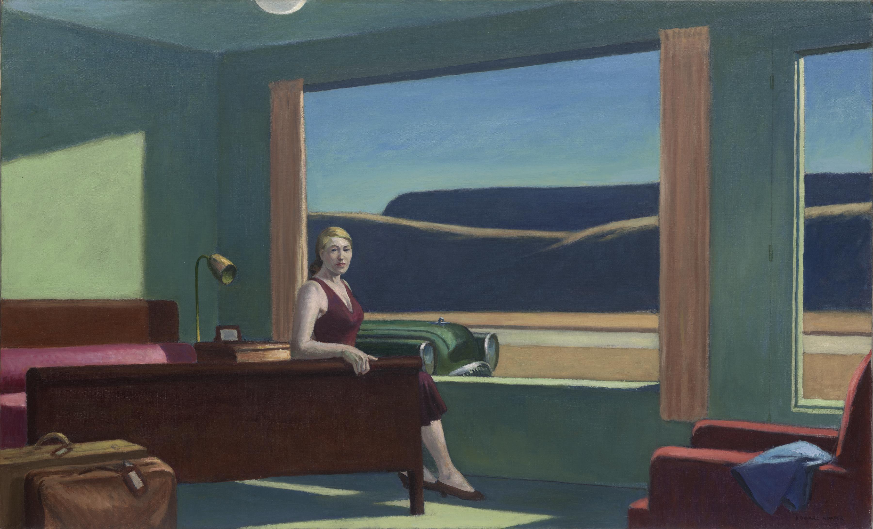 Edward Hopper's Western Motel Recreated in an Exhibition – Fubiz Media Design
