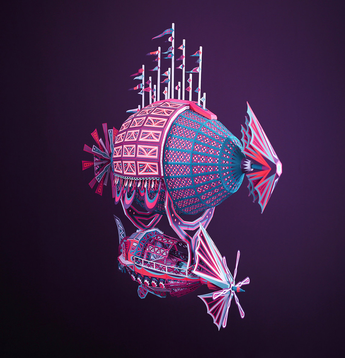 Amazing Paper Cut Installations – Fubiz Media Design