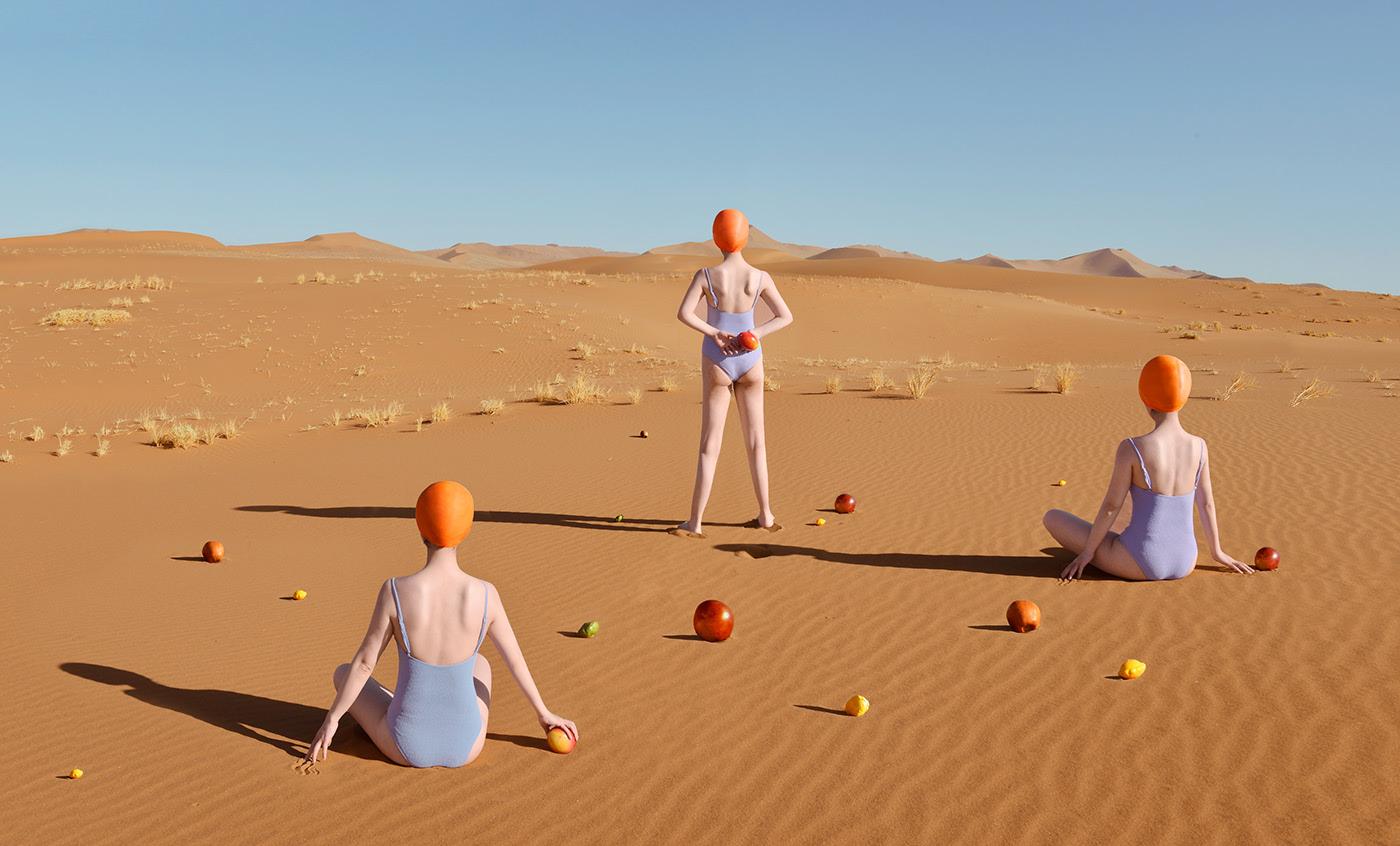 Surrealist Series of Food in the Desert – Fubiz Media Design