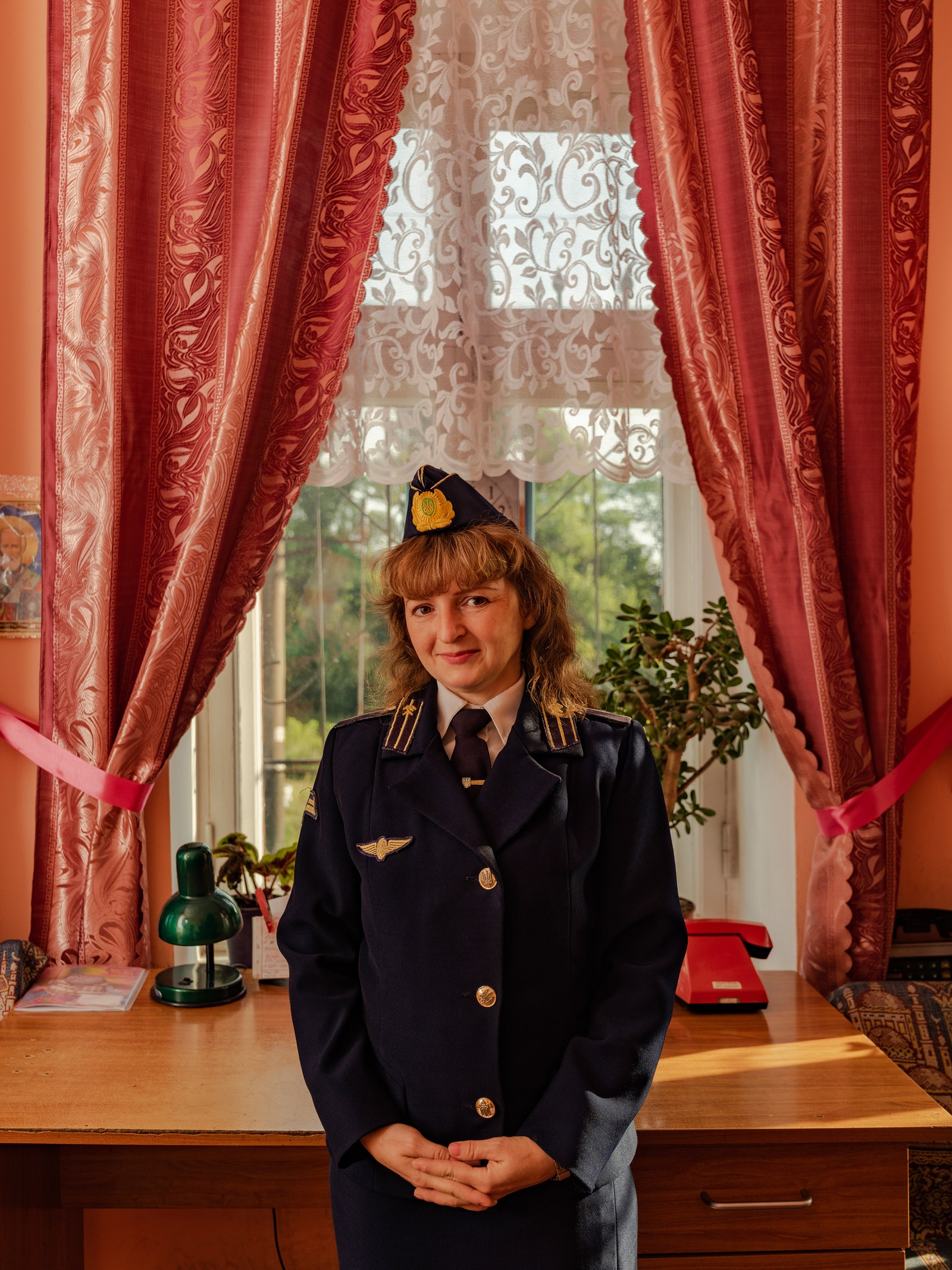 The Women of Ukraine's Railroads Keep the Trains Running Photography