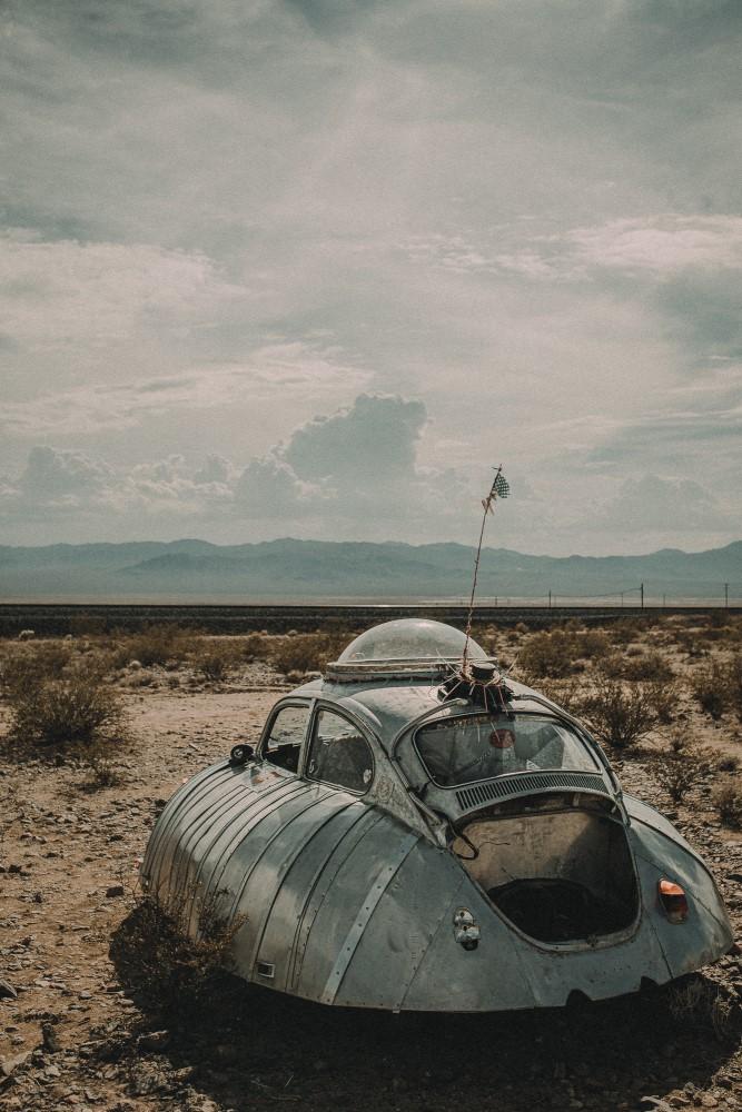 Lonely Landscapes of California – Fubiz Media Design