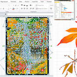 Amazing Paintings Made with Excel – Fubiz Media Design