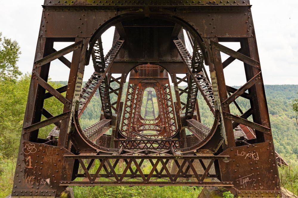 Kinzua Viaduct: The Fallen Bridge Photography