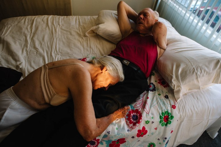 Poignant Images of a Late-in-life Love Triangle | Geek Universe